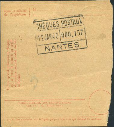 mandat carte pour CCP1940 verso
